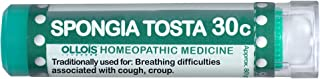 Ollois Lactose FreeHomeopathic Medicines, Spongia Tosta 30C Pellets, 80 Count