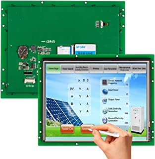 10.4 Inch Intelligent TFT LCD Monitor Module with CPU & Touch Screen & Serial Interface (Any MCU Control via Instruction)