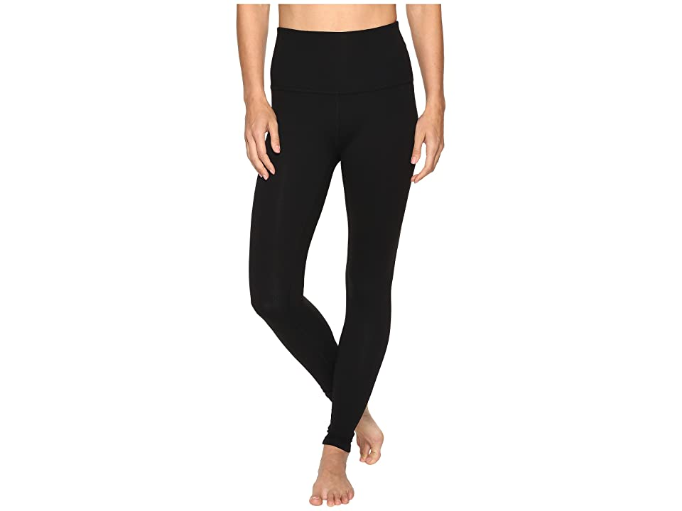 Beyond Yoga Take Me Higher Leggings (Jet Black) Women