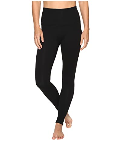 Beyond Yoga High Waisted Long Leggings (Jet Black) Women