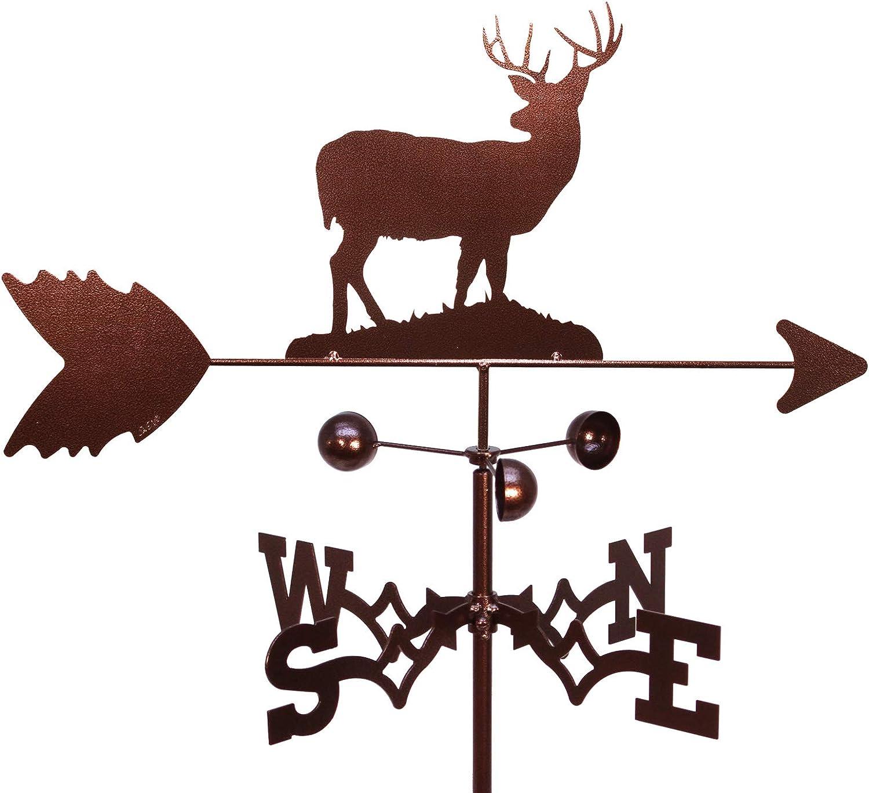 Adjustable Mount Included SWEN Products Bear CUB Wildlife Weathervane