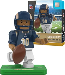 OYO NFL St. Louis Rams Gen4 Limited Edition Los Angeles Todd Gurley Mini Figure, Small, White