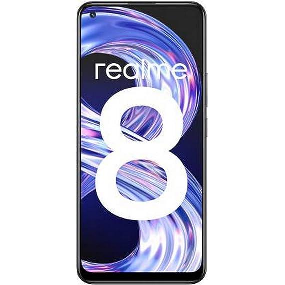 Realme 8 (Cyber Black, 4GB RAM, 128GB Storage)