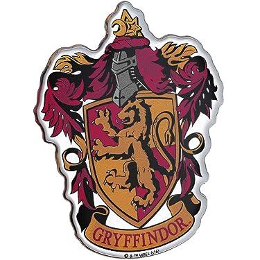 Fan Emblems Harry Potter Domed Chrome Car Decal - Gryffindor Crest