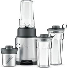 Sage Appliances SPB620 the Boss to Go Plus, Blender, Brushed Aluminium, 20,5 (B) x 29 (T) x 44,5 (H)