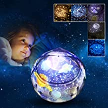 Joy-Jam Regalos para Niños 3-10 Años Proyector Bebe Luz de Noche Estrella para Niños Lampara Nocturna Proyector LED Decoracion Regalos de Cumpleanos Navidad