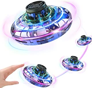 AUGNORYE Flynova Flying Spinner Toy, Mini Drone, Hand Operated Drones for Kids or Adults - Hands Free UFO Helicopter, Easy Indoor Outdoor Flying Interactive Toys for Boys Girls