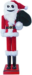 Jack Skellington in Santa Suit Nutcracker - The Nightmare Before Christmas Nutcracker