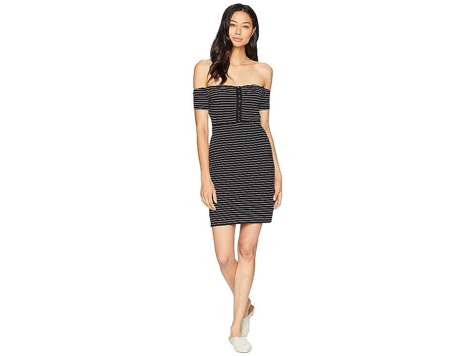 Volcom She Shore Dress (Black Combo) Women