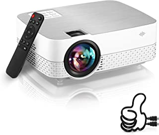 Projector 1080P Supported HiFi Speaker for Home Theater Outdoor Movie Projector Compatible with TV Stick/Switch/Laptop/PS...