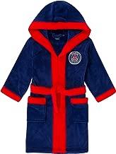 PSG - Jungen Fleece-Bademantel mit Kapuze - Offizielles Merchandise - Geschenk für Fußballfans