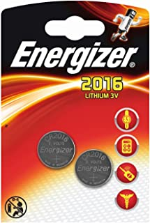 40 x Energizer CR2016 Coin Battery Batteries Lithium 3V for Watches Torches Keys