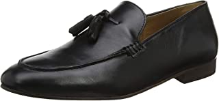 H by Hudson Bolton Leather Mens Shoes Black