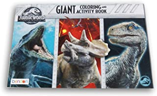 Lazy Days Jurassic World Fallen Kingdom Giant Coloring and Activity Book - 11 x 16 Inch