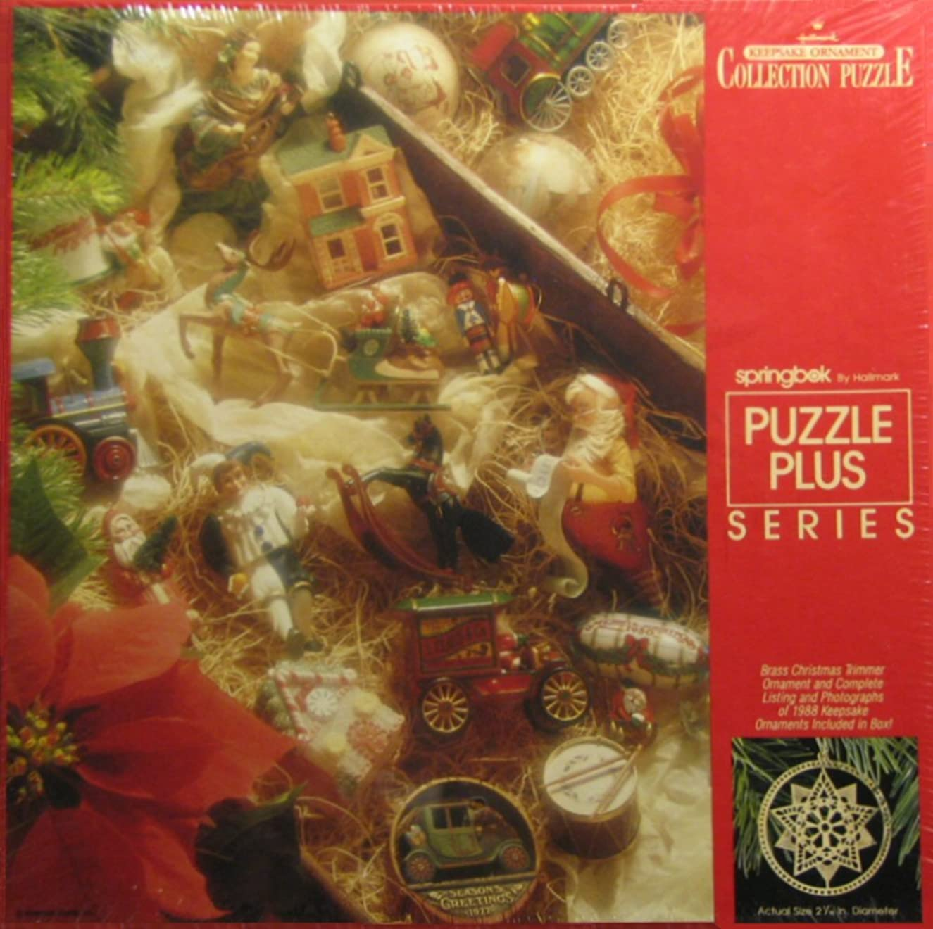 500 Piece Hallmark Keepsale Ornament Collection Puzzle by Sprinkbok