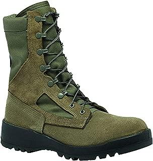 Tactical Bundle: Belleville Men's Hot Weather Combat Boot Sage 14.0 R & Cap