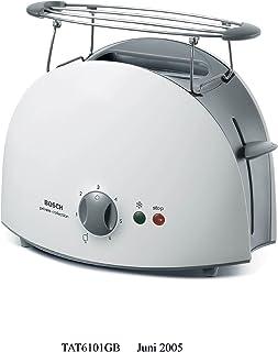 Bosch 2 Slice Toaster, White - TAT6101GB