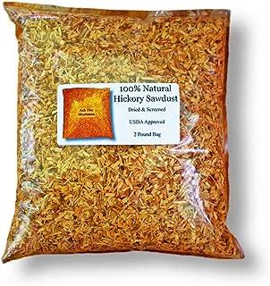 Hickory Natural Sawdust (2.0 Lb)