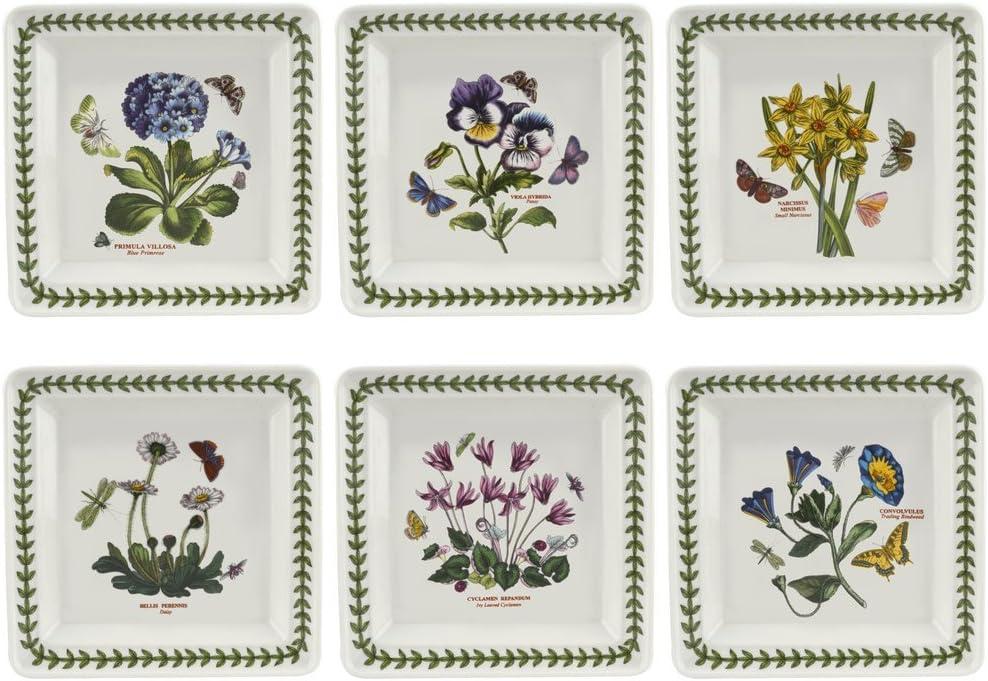 Portmeirion Botanic Garden Square Plate, 7