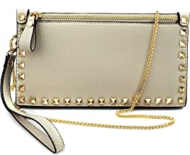Jieway Women Clutch Bags Purse Rivets Handbags, Evening Bags Crossbody Bag