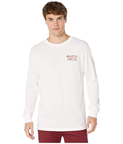 RVCA INT HAZ Long Sleeve (Antique White) Men