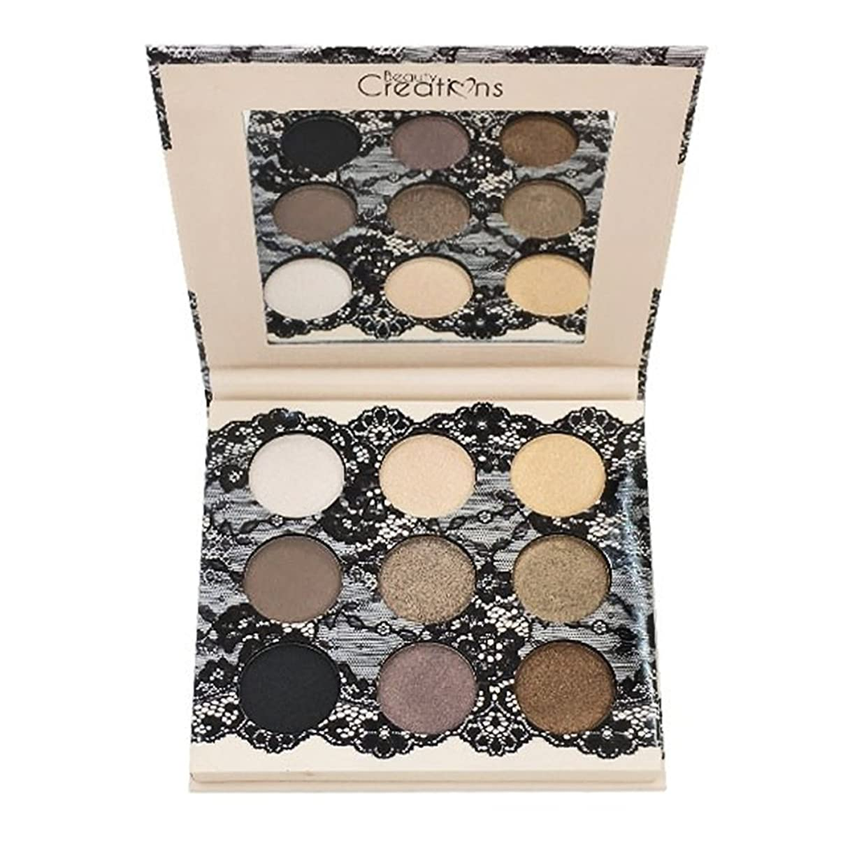 反映する吸収する文芸(6 Pack) BEAUTY CREATIONS Boudoir Shadows 9 Shades Eyeshadow Palette - B (並行輸入品)