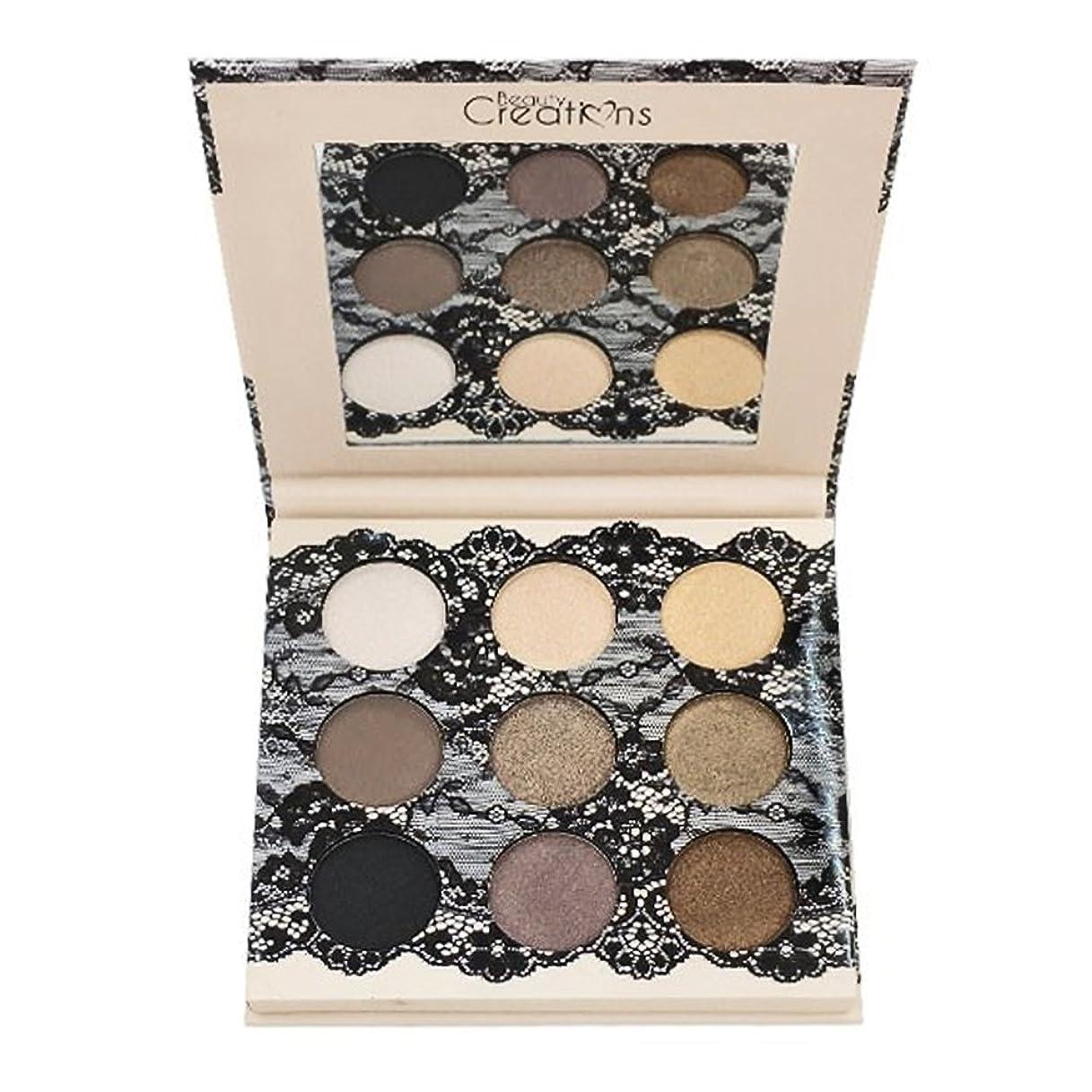 剃る魚煙(6 Pack) BEAUTY CREATIONS Boudoir Shadows 9 Shades Eyeshadow Palette - B (並行輸入品)