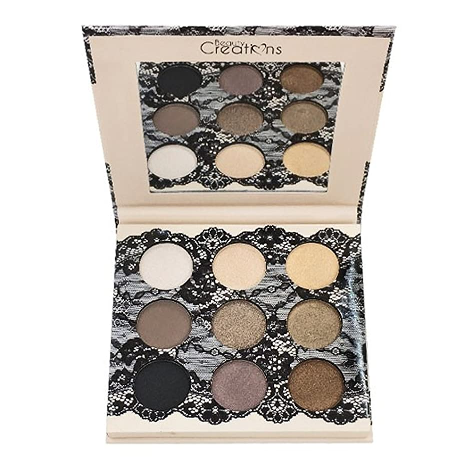 忘れられない荒野集中(6 Pack) BEAUTY CREATIONS Boudoir Shadows 9 Shades Eyeshadow Palette - B (並行輸入品)