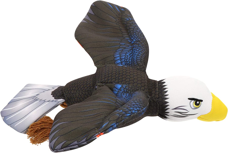 Balacoo Águila de Peluche Juguetes de Peluche para Mascotas Juguete de Sonido de Peluche de Águila Americana Juguetes de Peluche para Mascotas Perro Gato Juguetes Regalo de Elección