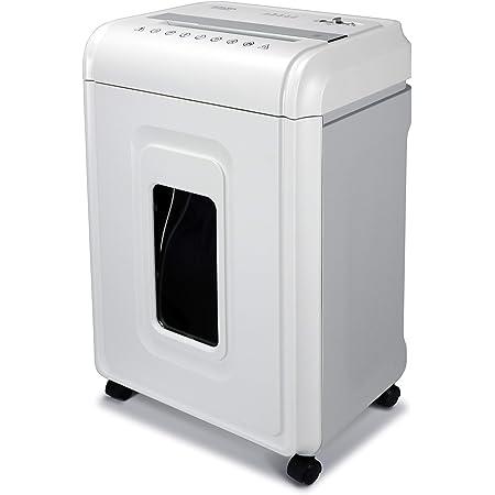 Aurora Heavy Duty High Security 16-Sheet Micro-Cut Shredder/Anti-Jam/60 Min Run Time/ 7-Gallon Pullout Basket and Casters