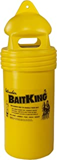 Intruder BaitKing, Live Bait Bucket, Use Trolling, Floating or even Ice Fishing, Screened Top, Large, 17-inch x 6.25-inch