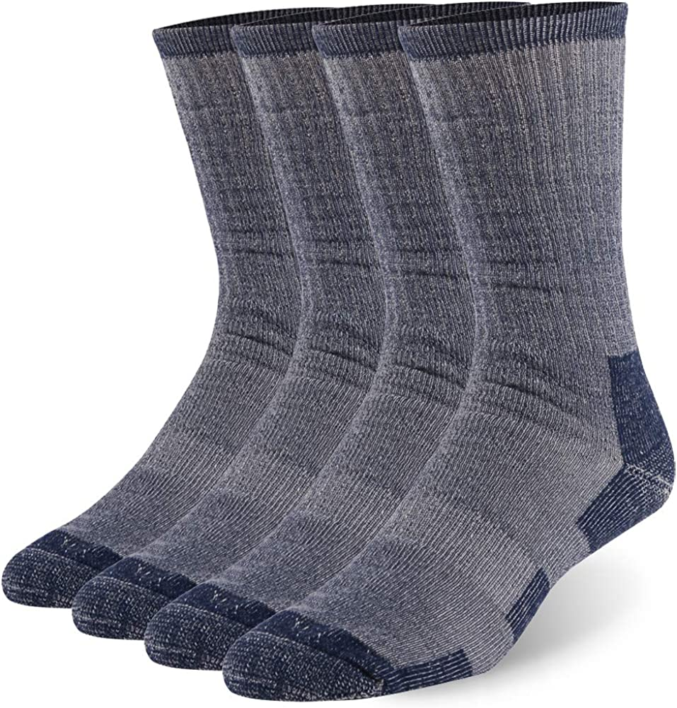 Wool Hiking Socks Gmark Unisex security Thermal Outdoor Athletic Winter Miami Mall