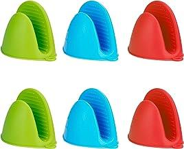 MengH-SHOP Mini-handschoenen van silicone, dik, hittebestendig, antislip, multifunctioneel, ovenhandschoenen, accessoires,...