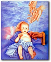 Impact Posters Gallery Wall Decoration Baby Jesus Christ Religious & Spiritual Scripture Catholic Art Print Picture (16x20)