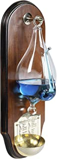 Authentic Models WG011F Weather Glass, French Finish Wood Wall Plaque