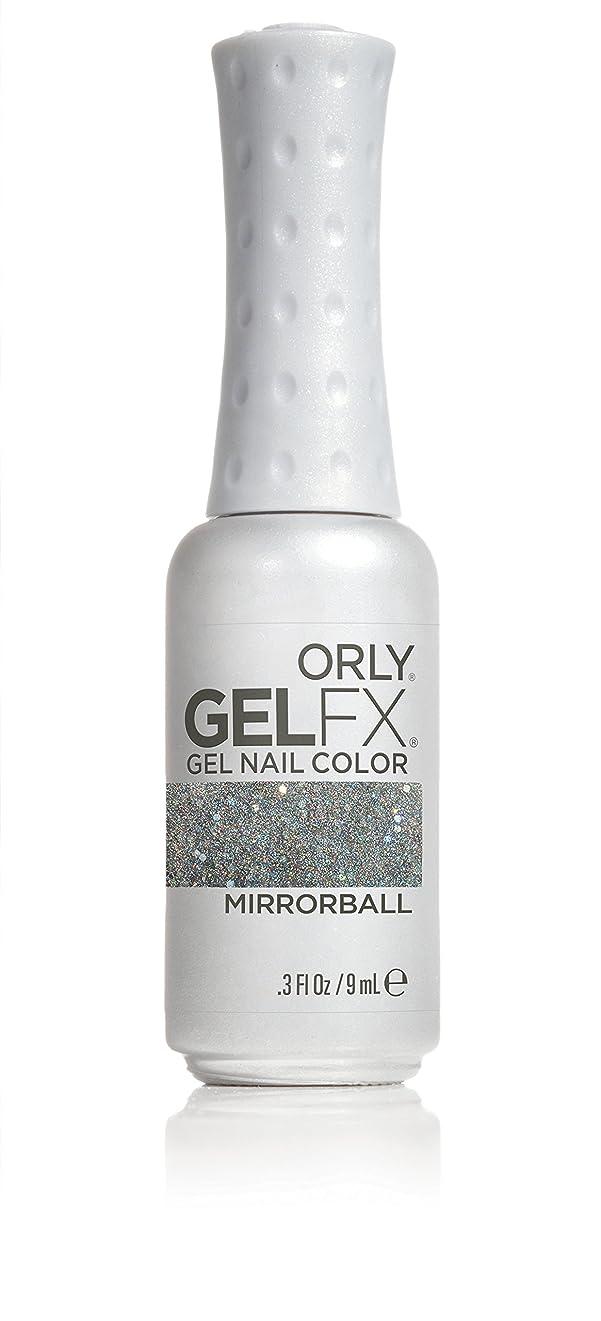 翻訳クローン原告Orly GelFX Gel Polish - Mirrorball - 0.3oz / 9ml