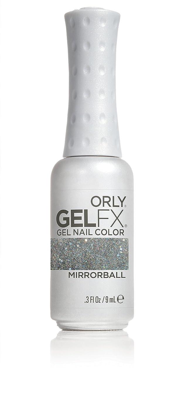 致命的実験室ラケットOrly GelFX Gel Polish - Mirrorball - 0.3oz / 9ml