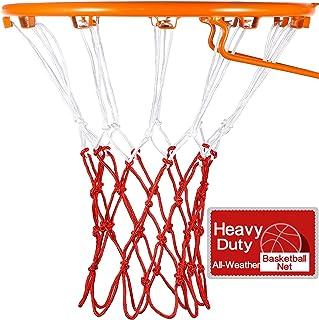 Syhood Basketball Net Hoop Net for All Weather, Fits Standard Indoor or Outdoor Basketball Hoop, 12 Loop