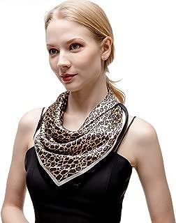 Best leopard silk head scarf Reviews