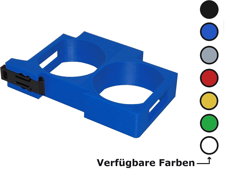 35mm Shelly 1 Schwarz 1PM Hutschienenhalter//Adapter Mini DIN Rail bracket