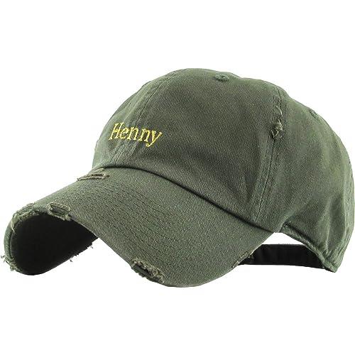 KBETHOS Henny Wavvy Dad Hat Baseball Cap Polo Style Unconstructed 399a59e74e54