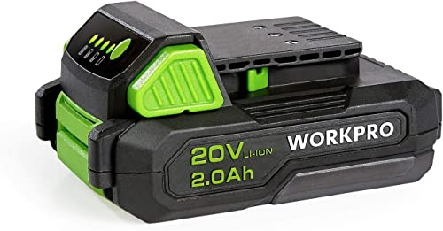 lowest WORKPRO 20V online 2.0Ah lowest Lithium-ion Battery Pack online