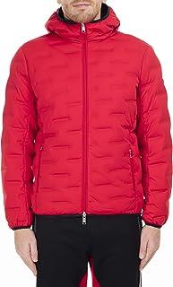 Armani Exchange Men's Zip Up Down Jacket With Hood