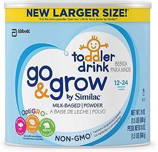 Similac 雅培 Go & Grow 非转*牛奶基幼儿饮料,粉末,24盎司(约680.39克)