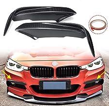2 Pezzi Accessori per Auto Decorazione Posteriore per BMW Serie 3 4 GT F30 F34 2013-2017 in ABS Cromato Top-Auto