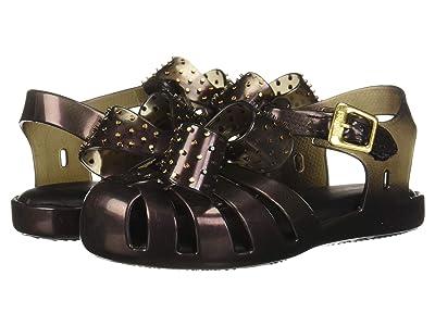 Mini Melissa Mini Aranha XIII (Toddler/Little Kid) (Black Iridescent) Girls Shoes