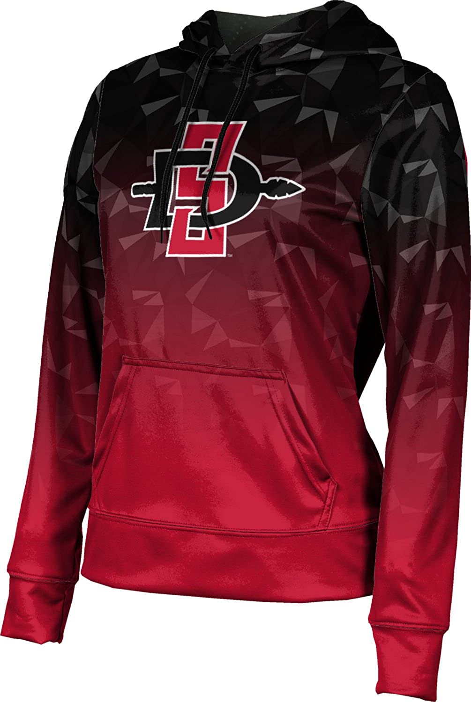 San Diego State University Girls' Pullover Hoodie, School Spirit Sweatshirt (Maya)