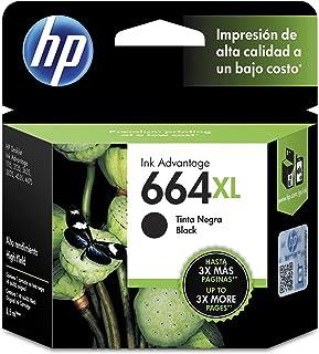 Cartucho original de tinta negra de alto rendimiento HP 664XL Advantage (F6V31AL)