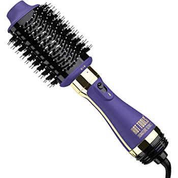 """Hot Tools Signature Series One Step Blowout Detachable Volumizer and Hair Dryer, Ceramic, 2.8"""" Regular Barrel One Step"""