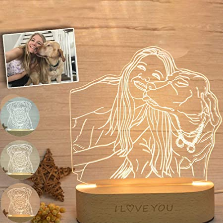 with wish engraving Individual LED lamp